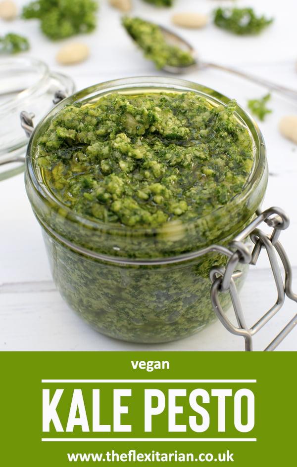 Kale Pesto [vegan] 2020 © Annabelle Randles   The Flexitarian