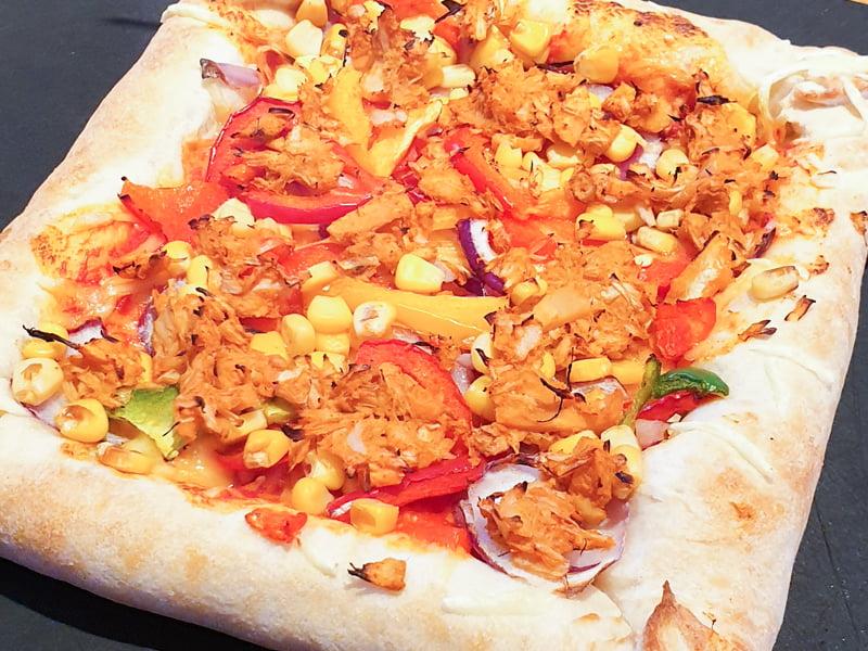 The NEW Pizza Hut Vegan Stuffed Crust Pizza