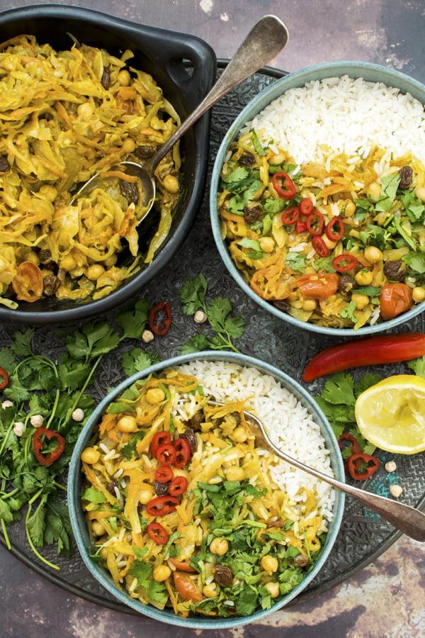 Cabbage Curry [vegan] [gluten free]