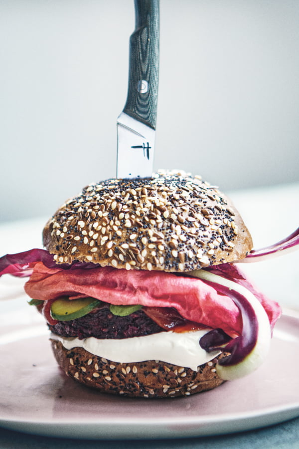The Pulp Fiction Burger by Tom Hunt © Image credit Jenny Zarins