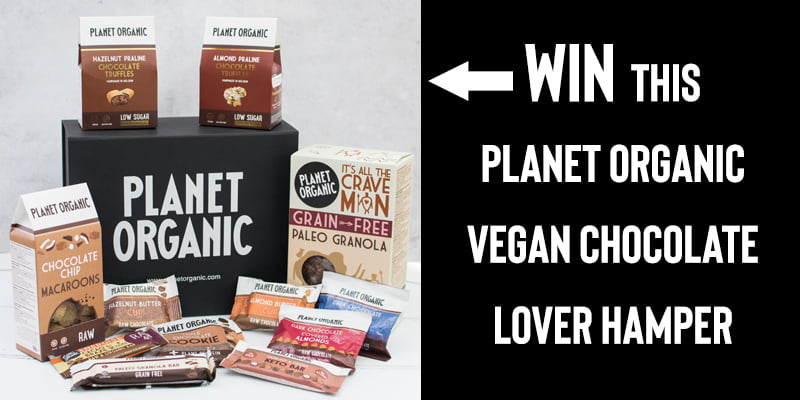 WIN This Planet Organic Vegan Chocolate Lover Hamper