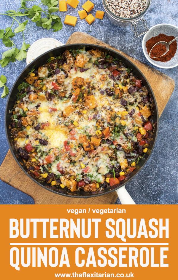 Butternut Squash Quinoa Casserole by The Flexitarian