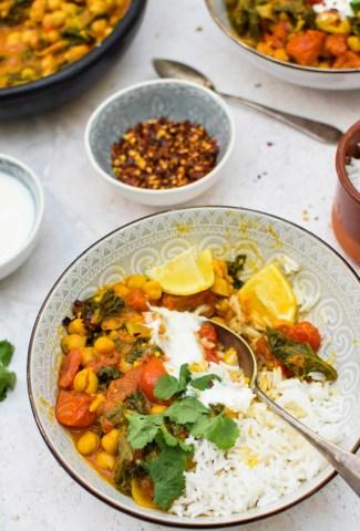 Chickpea Stew [vegan] | The Flexitarian