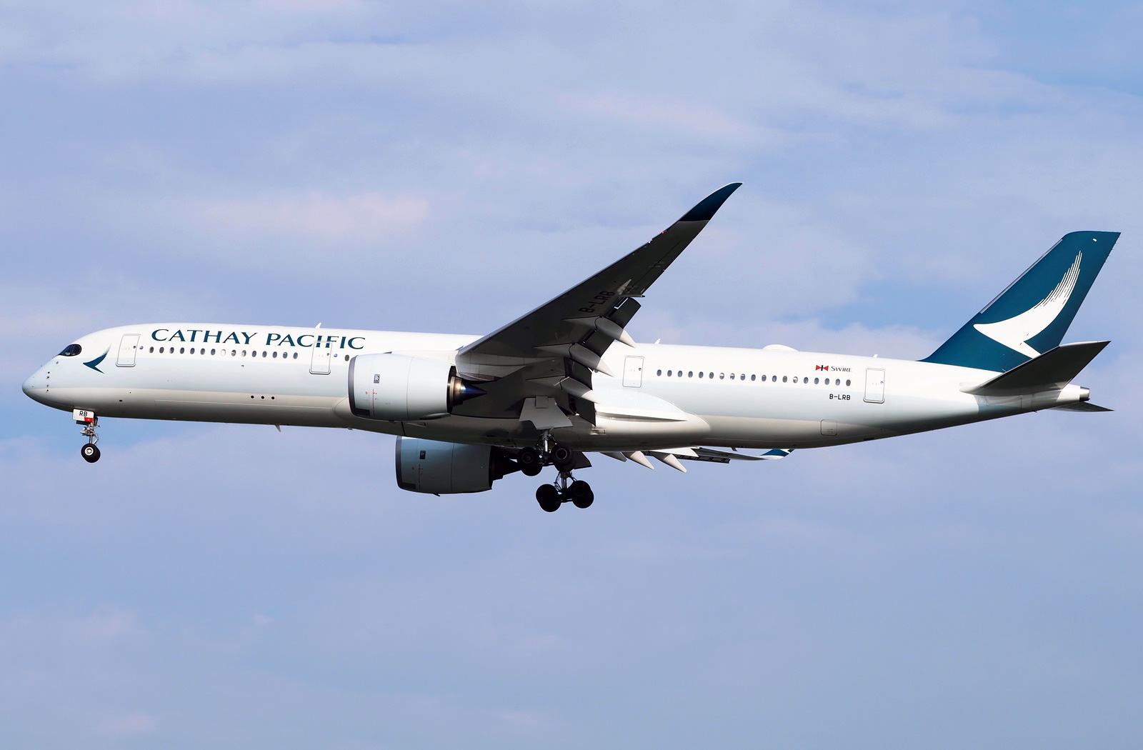 Airbus A350900 Cathay Pacific Photos and description of
