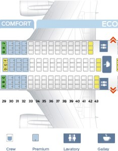 Seat map of the boeing delta airlines also best seats in plane rh theflightfo