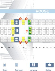 Seat map air canada boeing rouge version also best seats in plane rh theflightfo