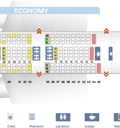 seat map boeing 747 400 combi new business klm airlines [ 1869 x 500 Pixel ]