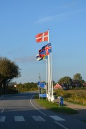 The Danish border from Germany.