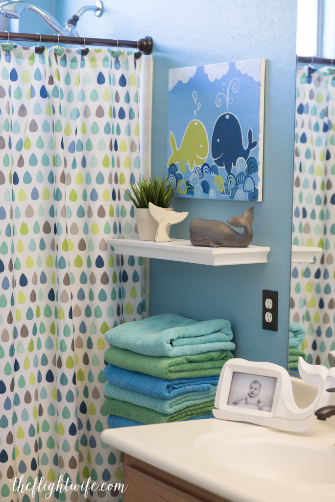 Kids Bathroom Makeover  Fun And Friendly Whales!  The