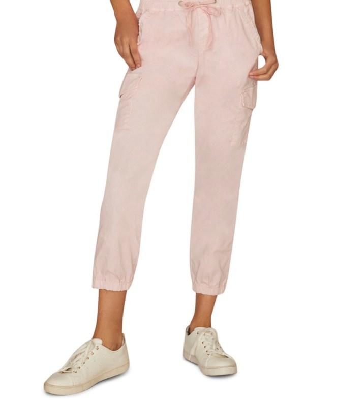sanctuary trooper cargo pants blush joggers chic joggers
