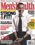 MEN'S HEALTH MAGAZINE BARACK OBAMA