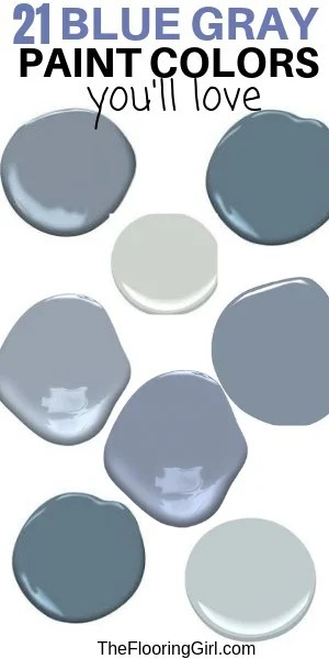 What Color Does Blue And Gray Make : color, Paint, Colors, Stylish, Dusty, Blues), Flooring