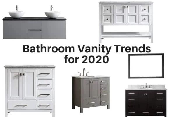 Bathroom Vanity Trends For 2020 The Flooring Girl