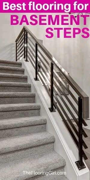 Basement Stairs Best Flooring Choices For Steps The Flooring Girl | Wood On Concrete Steps | Front Entry | Wood Deck | Clad | Timber Concrete | Above Ground Pool