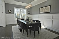 Decorating rooms with dark floors and gray walls   The ...