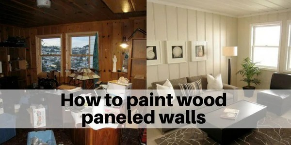 Painted Knotty Pine Walls