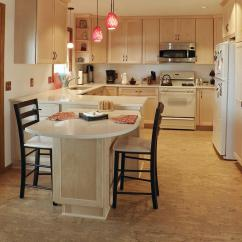 Cork Floor Kitchen Home Depot Cabinet Sale Flooring The Shop