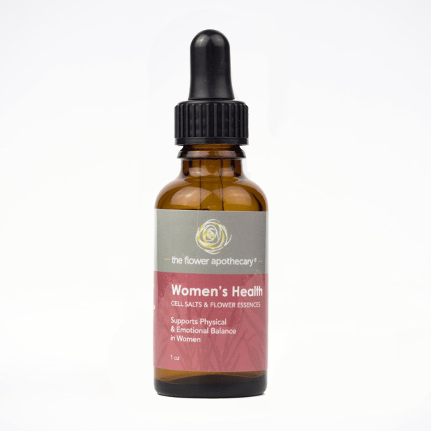 women's health cell salts & flower essences
