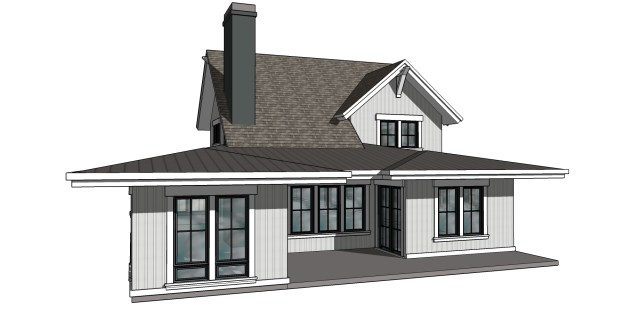 Exterior Design of Modern Farmhouse