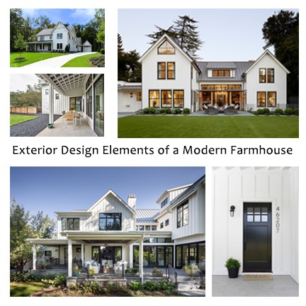 Modern Farmhouse Exterior Design Elements