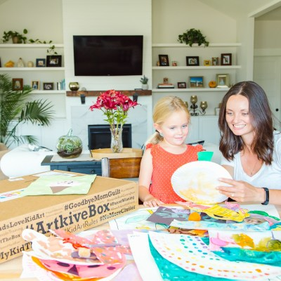 How To Save Your Child's Artwork Without All The Clutter