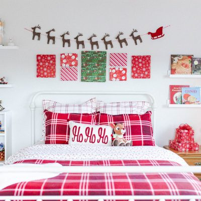 Kid's Holiday Bedroom Tour