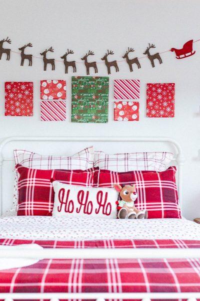christmas kid's bedroom