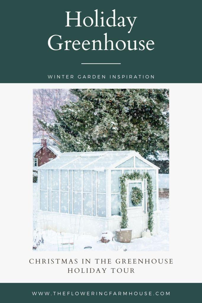 christmas greenhouse tour