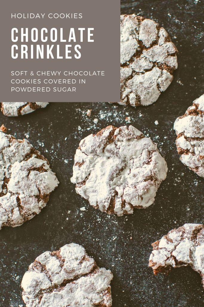 chocolate crinkle recipe