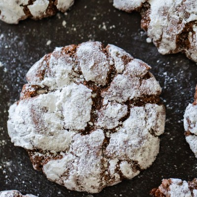 Holiday Cookie Recipe: Chocolate Crinkles