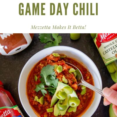 Game Day Meat & Olive Chili