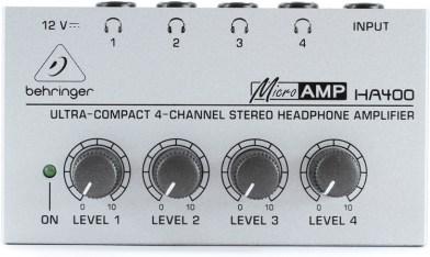 GEAR: Behringer MicroAMP HA400