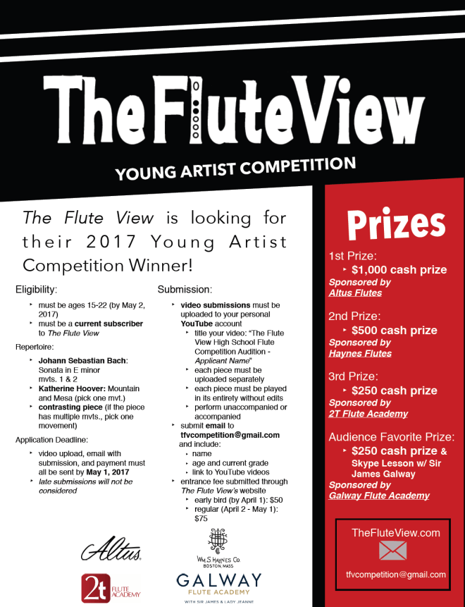 TheFluteView2017Competition