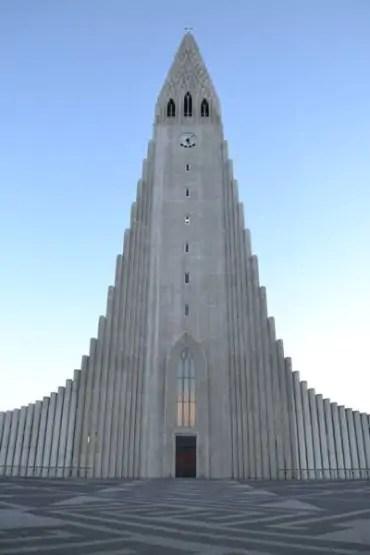 Hallgrimskirkja in Reykjavik Iceland