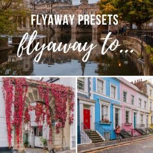 Flyaway to... Lightroom presets for photo editing