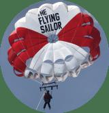 photo ronde parachute