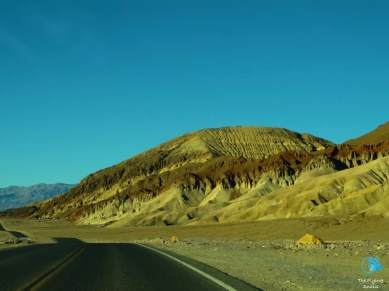 towards the colored mountains