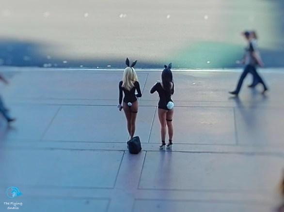 Picture girls on Las Vegas Strip