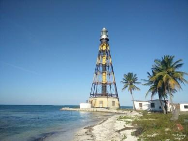 Lighthouse in Cayo Jutías