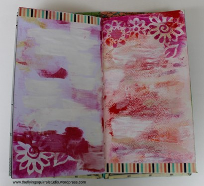travel journal painted pages 7