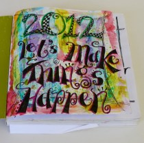 My start to 2012! Do something versus nothing, right?