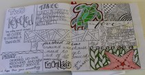 Drawing, doodling, documenting what was in my head.