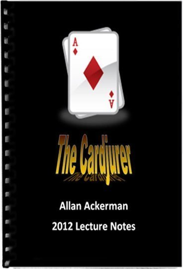 Allan Ackerman The Cardjurer Book