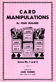 Jean Hugard Card Manipulations Vol 1 Vol 2 Book
