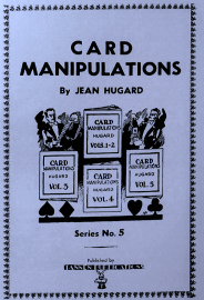 Jean Hugard Card Manipulations Vol 5 Book