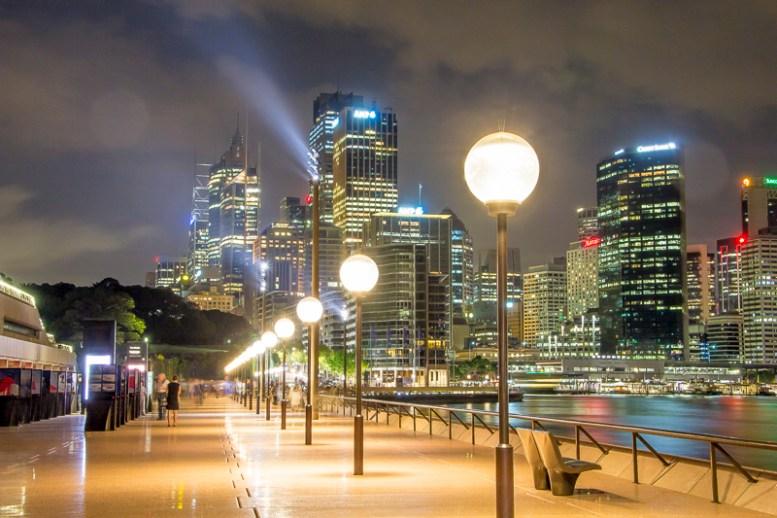 Sydney Opera House promenade