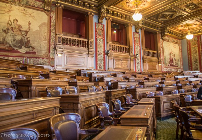 Paris Hotel de Ville - Council Chambers