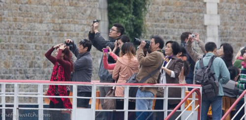 Tourist photographers