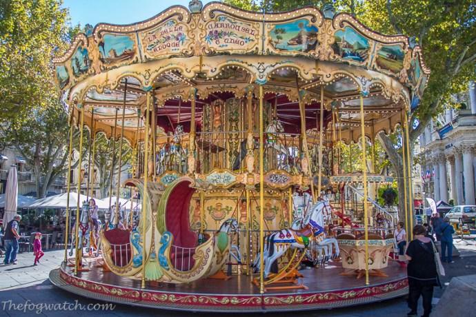 Carousel - Avignon, France
