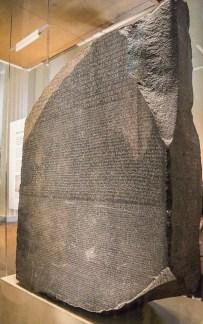 Rosetta Stone with circular polariser
